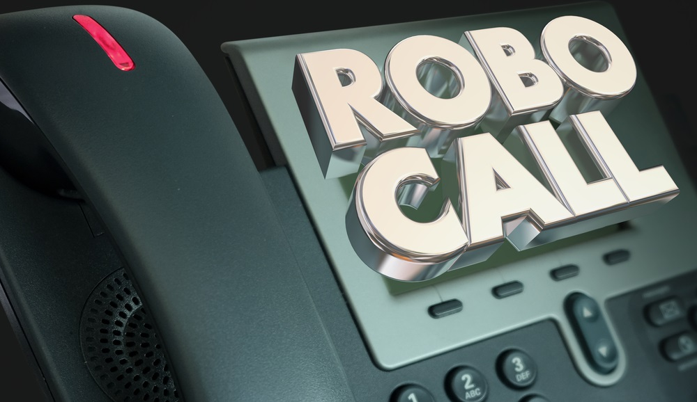robocalls stock photo